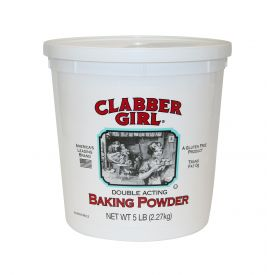 Clabber Girl Gluten Free Double Acting Baking Powder 5lb.