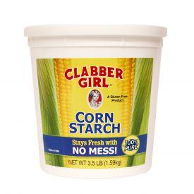 Clabber Girl Corn Starch 3.5lb.