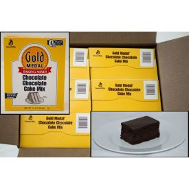 Gold Medal Chocolate Chocolate Cake Mix 5lb.