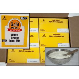Gold Medal White Crème Icing Mix 5lb.