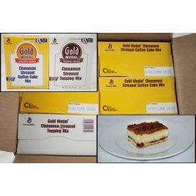 Gold Medal Cinnamon Streusel Coffee Cake Mix 4.66lb.