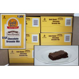 Gold Medal Sweet Rewards Low Fat Brownie Mix 6lb.