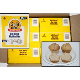 Gold Medal Oat Bran Muffin Mix 5lb.