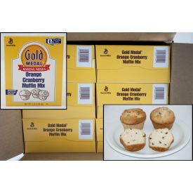 Gold Medal Orange Cranberry Muffin Mix 5lb.