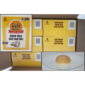 Gold Medal Quick Rise Soft Roll Mix 5lb.