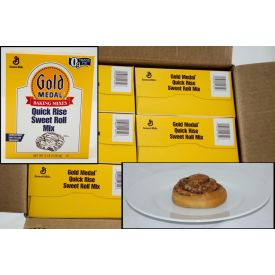 Gold Medal Quick Rise Sweet Roll Mix 5lb.