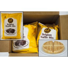 Gold Medal Belgian Waffle Mix 3.75lb.