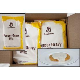 General Mills Pepper Biscuit Gravy Value Mix 1.5lb.