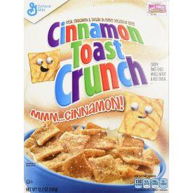 General Mills Cinnamon Toast Crunch Cereal Single Serve Packs 1oz.