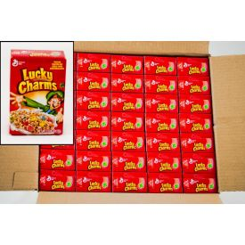 General Mills Lucky Charms Single Serve Packs 0.81oz.