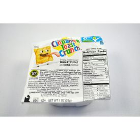 General Mills Cinnamon Toast Crunch Cereal Bowls 1oz.