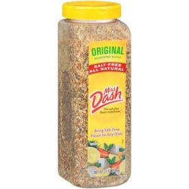 Mrs Dash Original Salt Free Blend Seasonings - 21 oz.