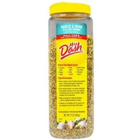 Mrs. Dash Garlic & Herb Seasoning Blend Salt-Free - 21 oz