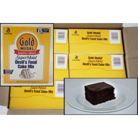 Gold Medal® SuperMoist® Devil's Food Cake Mix 4.5lb.