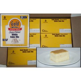 Gold Medal® SuperMoist® White Cake Mix 4.5lb.