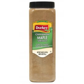 Durkee Cinnamon Maple Sprinkle - 30 oz