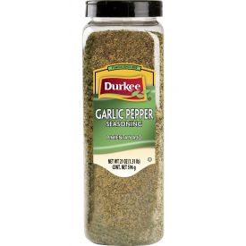 Durkee Garlic Pepper Seasoning - 21 oz
