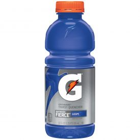 Gatorade Fierce Grape 20oz.