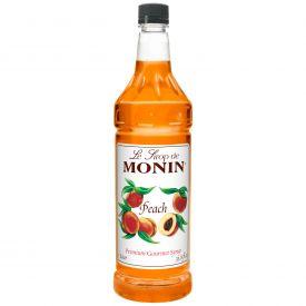Monin Peach Syrup - 33.8oz