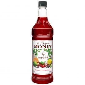 MONIN Flavored Syrup Red Sangria - 33.8oz