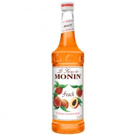 Monin Peach Syrup - 25.4oz