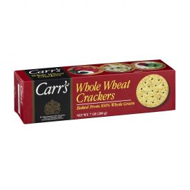 Carr's Whole Wheat Crackers - 7oz