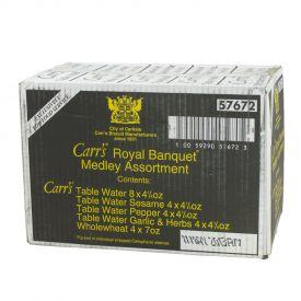 Carr's Royal Banquet Medley Assortment Crackers - 118.08oz