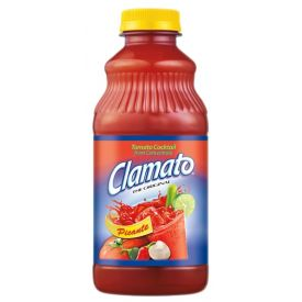 Clamato Picante Cocktail Juice 32oz.
