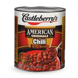 Castleberry's Chili with Beans - 106 oz