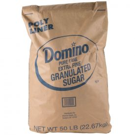 Domino® Extra Fine Granulated Sugar 50lb.