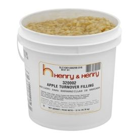 Henry & Henry® Apple Turnover Filling 37lb.