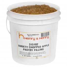 Henry & Henry® Variety Chopped Apple Filling 38lb.