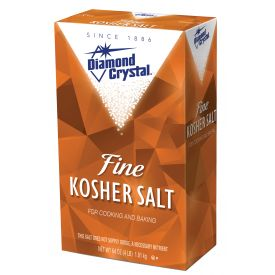 Diamond Crystal Fine Kosher (Popcorn) Salt 4lb.