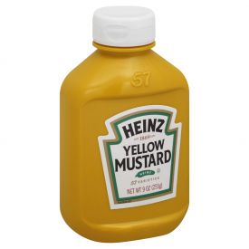 Heinz Yellow Mustard Sauce 9oz.