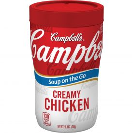 Campbell's On The Go Creamy Chicken Soup, 10.9 oz
