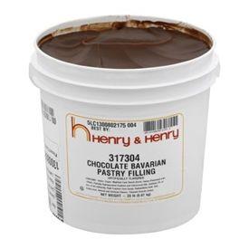 Henry & Henry® Chocolate Bavarian Filling 20lb.