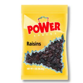Power Snacks Seedless Dried Raisin 1oz.