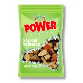 Power Snacks Tropical Treasure Trail Mix Snack - 1oz
