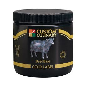 Custom Culinary Gold Label Beef Base - 50lb