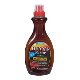 Dunn's Farm Low-Calorie Maple Flavored Pancake Syrup 12oz.