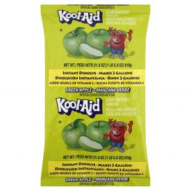 Kool-Aid Powdered Green Apple Drink Mix.