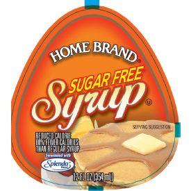 Carriage House Home Brand Sugar-Free Syrup 12oz.