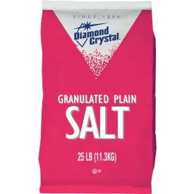 Diamond Crystal Granulated Salt 25lb.