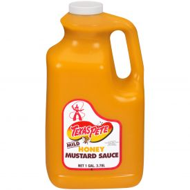 Texas Pete Honey Mustard Sauce - 128oz