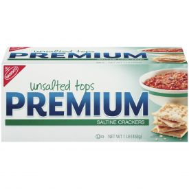 Nabisco Premium Unsalted Saltine Crackers - 1lb