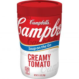 Campbell's On The Go Creamy Tomato Soup, 11.1 oz