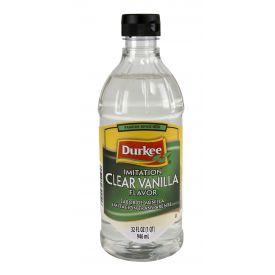 Durkee  Imitation Clear Vanilla Flavor - 32oz.