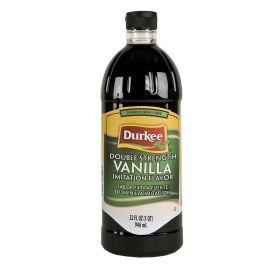 Durkee  Double Strength Vanilla Imitation Flavor - 32oz.