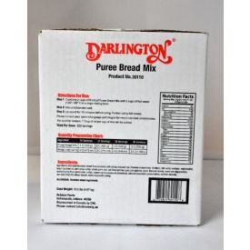 Darlington Purée Bread & Bakery Mix 10.3lb.