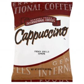 General Foods French Vanilla Cappuccino 32oz.